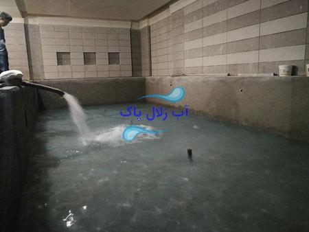 تانکر آبرسانی استخر تهران
